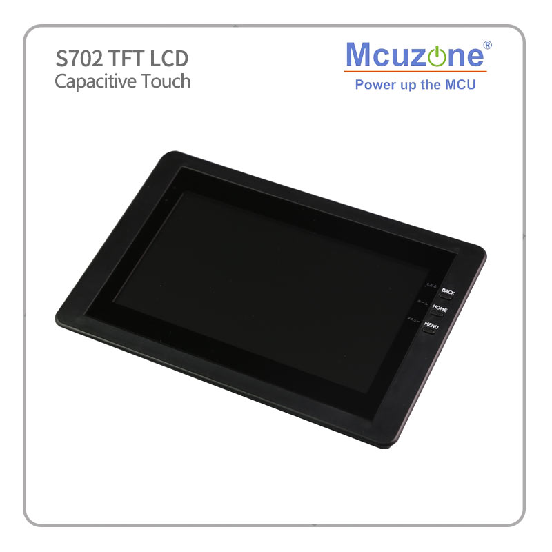 """S702 7"""" TFT LCD 800*480 7 inch Capacitive screen, for Friendlyarm tiny4412 supper4412 tiny210 smart210-in Demo Board Accessories from Computer & Office    1"""
