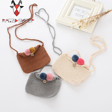 Raged Sheep Girls Small Coin Purse Change Wallet Kids Bag Coin Pouch Children's Wallet Money Holder Lovely Kids Gift knittin Bag