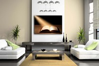 Unframed Wall Art Pictures Holy Bible Canvas Print Modern Religion Posters Without Frames For Home Living Room Decor