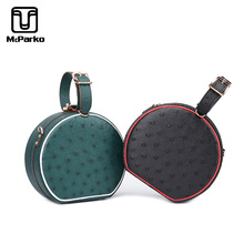 McParko Sweet Ladies Bags Genuine Ostrich Leather Handbag Top-handle Women 2019 Luxury Fashion Shoulder Bag Female