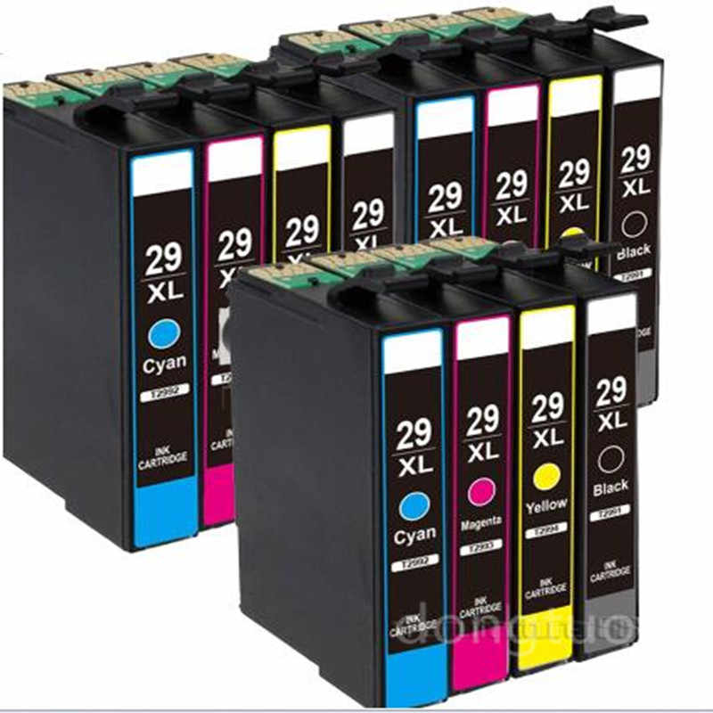 12X Untuk XP-235 XP-245 XP-332 XP-335 XP235 XP245 XP332 XP335 XP 235 245 332 335 Cartridge Tinta Printer Eropa Catridges T29
