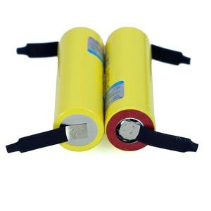 Image 3 - 100% New Original HE4 18650 Rechargeable li lon battery 3.6V 2500mAh Battery 20A 35A discharge + DIY Nickel sheet