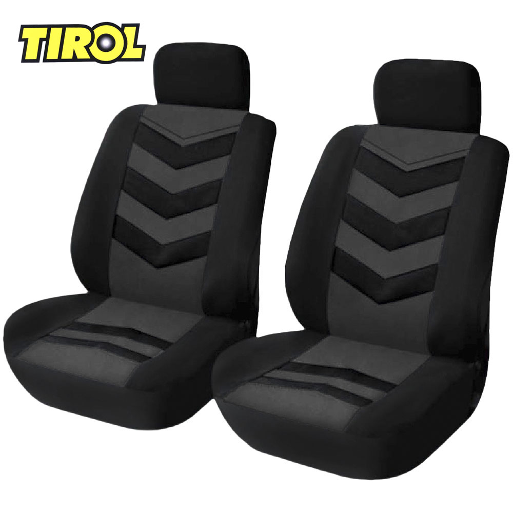 TIROL Protector Front-Seat-Covers-Set Auto-Cushion-Interior-Accessories Universal Car