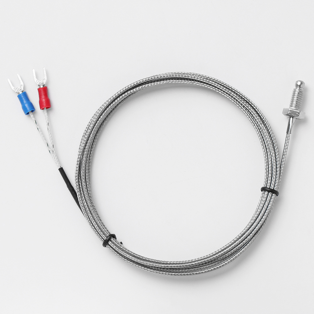 50~300 ℃ RTD PT100 A class Temperature Sensor Stainless Steel Probe 2m Cable
