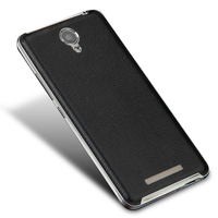 Slim Battery Back Covers For Xiaomi Redmi Note 2 Slenky Luxury PC Leather Fundas Cases For