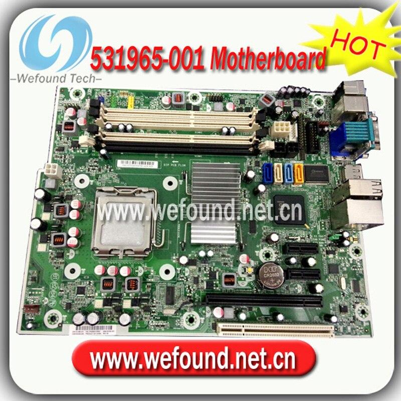 Hot! desktop motherboard mainboard 531965-001 503362-001 for HP 6000 pro Q43