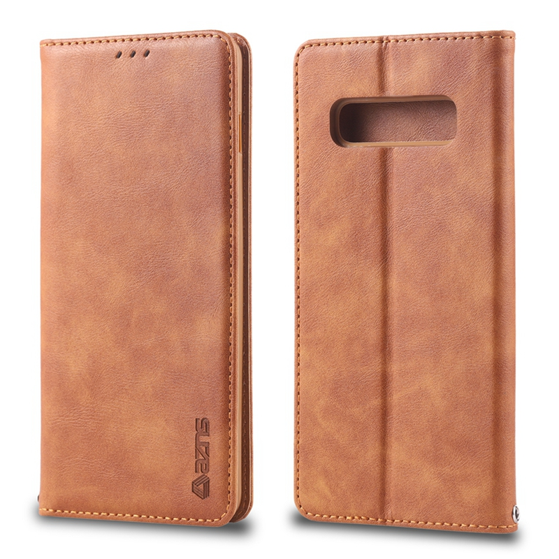 S10 Plus Leather Case for Samsung Galaxy S10 PU Leather Case for Samsung Galaxy S10e s7 edge s8 s9 plus note 9 8 Full Cover Bag
