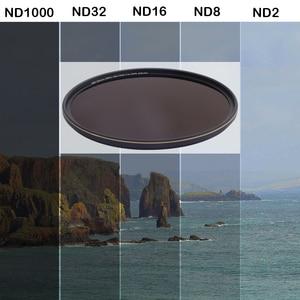 Image 5 - Camera Filter Optical Glass ND1000 Neutral Density 67mm 72mm 77mm 82mm For Canon EOS Nikon Sony SLR Digital Camera Lens Filtro