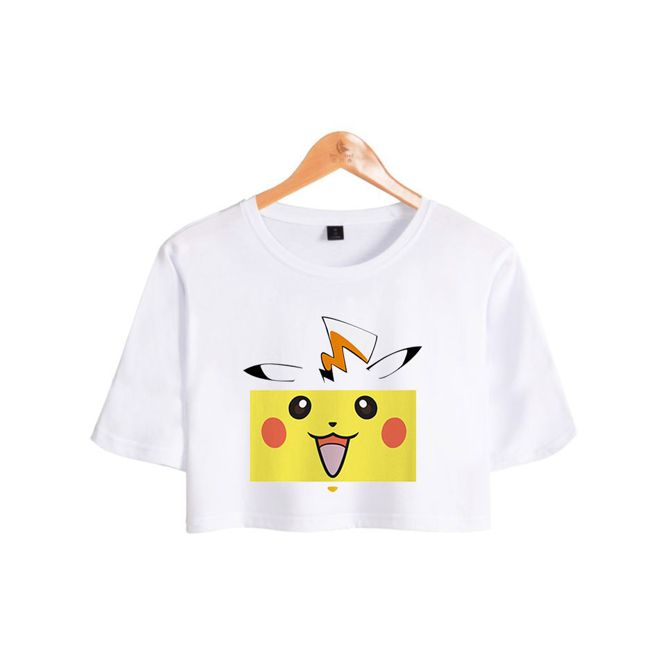 casual-ariana-font-b-pokemon-b-font-pikachu-exposed-navel-women-hot-summer-fashion-beautiful-girl's-t-shirts-font-b-pokemon-b-font-pikachu-print-t-shirts