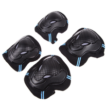 Roller Skating Skateboard Knee Elbow Wrist Protective Guard Pad Gear Pack H1E1