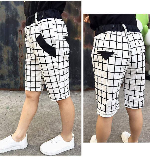391a9c78 Boys Shorts Striped Pants Kids Military Style Sports Trousers Summer  Toddler Boys Trousers Star Pattern Bape