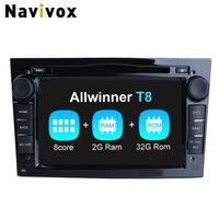 Navivox Car Multimedia Player Android 7.1.2 Car Video Play For Opel Astra Vectra Antara Zafira Corsa Radio Rds GPS Navigation