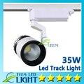 Luzes Led atacado 35 W COB Led faixa Spot Light lâmpada de parede Soptlight acompanhamento Led AC 85 - 265 V iluminação DHL frete grátis