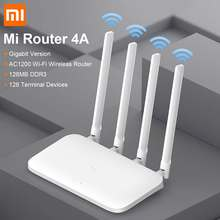 Xiaomi WiFi Router 4A Wireless 2.4G&5GHz 1167Mbps Dual 128M DDR3 Memory WiFi Repeater 4 External Antennas Network Extender APP(China)