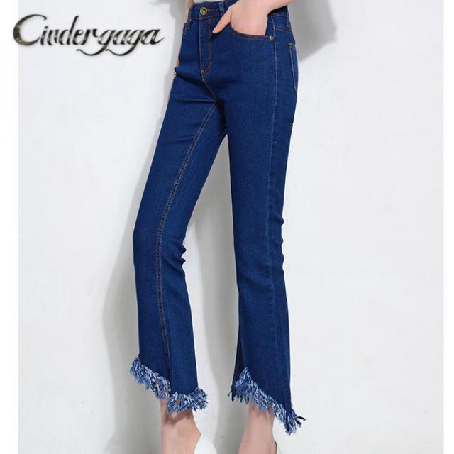 Aliexpress.com : Buy Cindergaga Ripped High Waisted Jeans Elastic ...