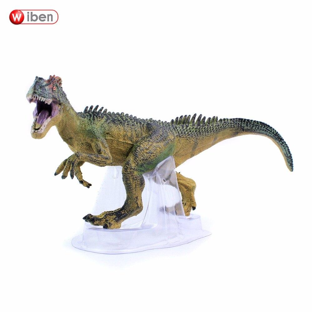 Wiben Jurassic Allosaurus Dinozauru rotaļlietas Rīcības attēls Dzīvnieku modeļa kolekcija Augstas simulācijas Ziemassvētku dāvana bērniem