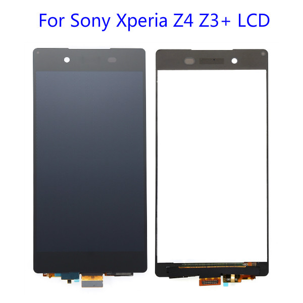 100% Garantie Pour Sony Xperia Z4 Z3 + LCD Écran Avec Écran Tactile Digitizer Assemblée Livraison Gratuite Noir