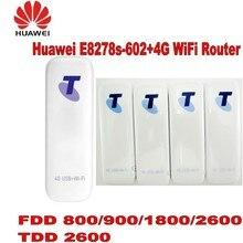 Лот из 10 шт. разблокирована huawei E8278s-602 LTE FDD 2600/1800/900/800 мГц TDD 2600 мГц wi-Fi модем