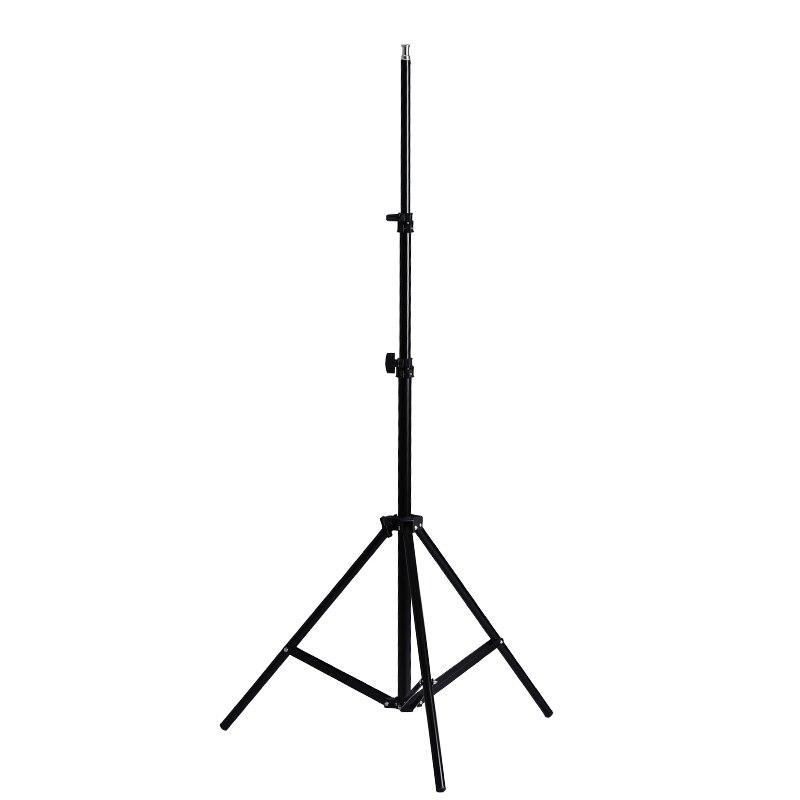 Top Deals 200cm 6.5ft Light Stand Photography Studio Flash Speedlight Stand Umbrella Exhibitor Bracket