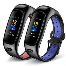 New S1 smart band and earphone two in one bracelet Bluetooth call watch wristband  sports waterproof