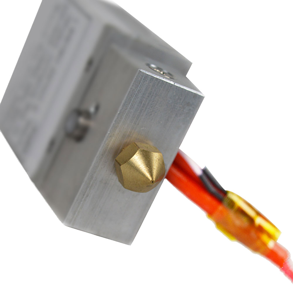 ZONESTAR Mixed Color Hotend Dual Extruder 2-IN-1-OUT Hotend 12V 40W Heater 100K NTC B3960 Thermistor 1.75mm Filament 10pcs the ntc thermistor 8d 20