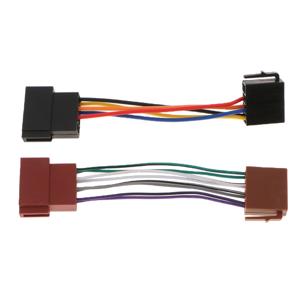 ISO Car Radio Wire Cable Wiring Harness Stereo Adapter Connector for VW Good Qaulity and Fast For Shipping