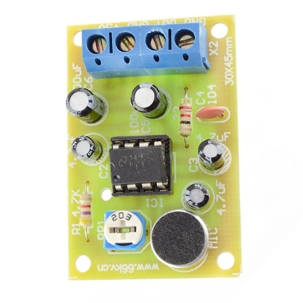 Diy Kit Lm386 Integrated Circuit Voice Audio Power Amplifier From Chinese Wholesalers Manufacturers Board Parts Electronic Production Suite In Circuits
