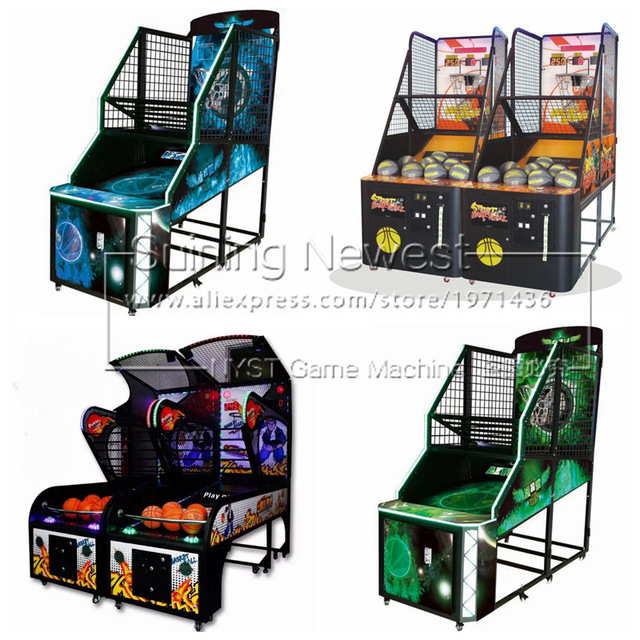2019 New Amusement Equipment Indoor Coin Operated Street Basketball Arcade Game Machine For Teenagers Adults