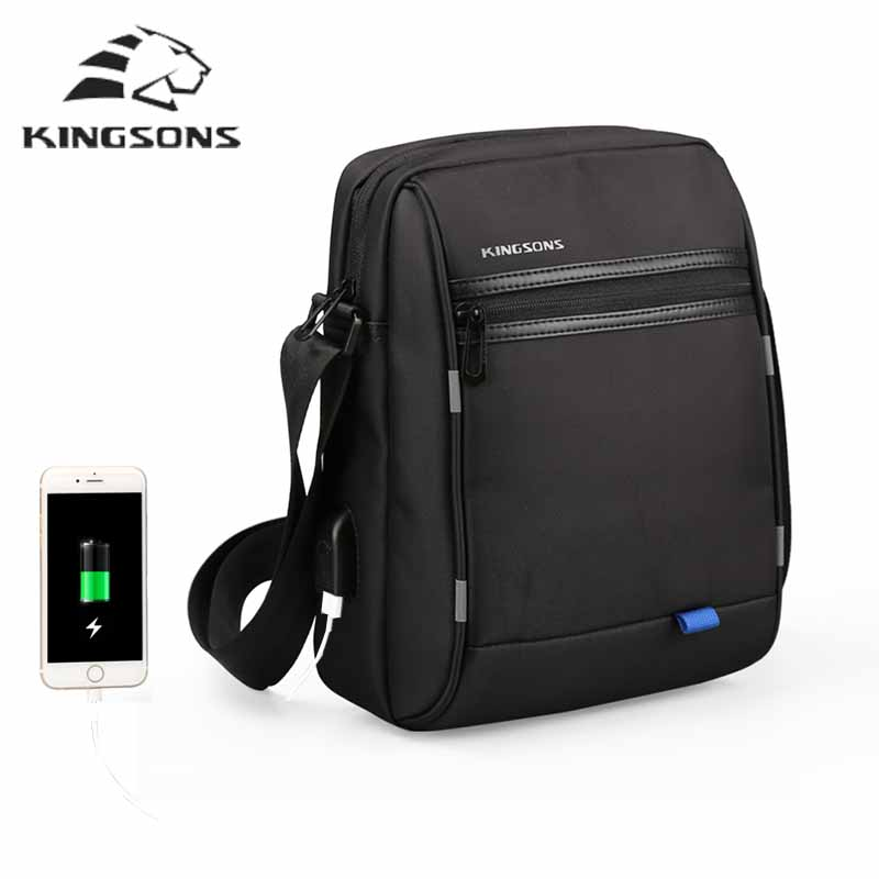 Kingsons High Quality man bag shoulder bag Famous brand Casual Business Messenger Bags Vintage Men Small Crossbody Bag Bolsas 2014 top selling multifunction messenger bags men crossbody bag small vintage famous brand men briefcase smb004