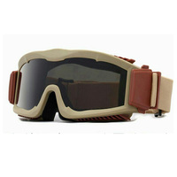 Bulletproof Military 3 Lens Bulletproof Goggles With Fabric Bag Tactical Army Sunglasses Outdoor Hunting Shooting Armed