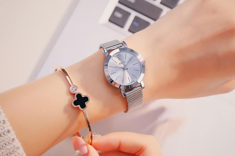 2017 Hot Sale Womens Watches Top Brand Luxury Fashion Casual Relogio Feminino Waterproof Simple Clock Gift Quartz Wristwatches
