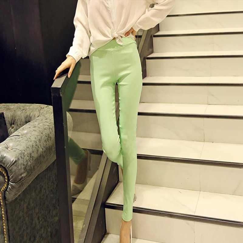 Leggings for women wear thin pencil trousers with the new 2018 model