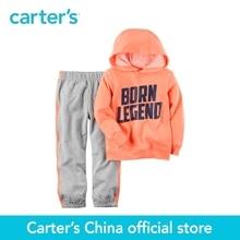 Carter de 2 pcs bébé enfants enfants 2-Piece Néon À Capuche Français Terry Top & Jogger Ensemble 249G393, vendu par Chine boutique officielle de Carter