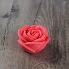 Free shipping Silicone moulds for cake pudding jelly dessert mould  3D rose silicon chocolate soap mold