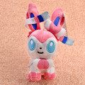 18 cm Lindo Pokemon Sylveon Eevee Pokemon Juguete de Peluche de Felpa de Juguete animales de Peluche Suave Muñeca de la Felpa Juguetes Del Bebé A Estrenar Con Tag
