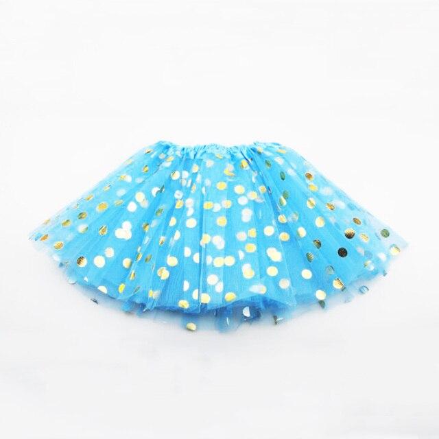 Elegant Polka Dot Polyester Skirt for Baby Girls 3