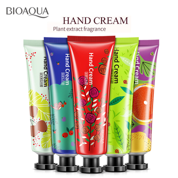 2017 New Brand Hand Skin Care Handcream for Women Men Sweet Fruit Flower Smell Whitening Moisturizing Hand Cream Lot