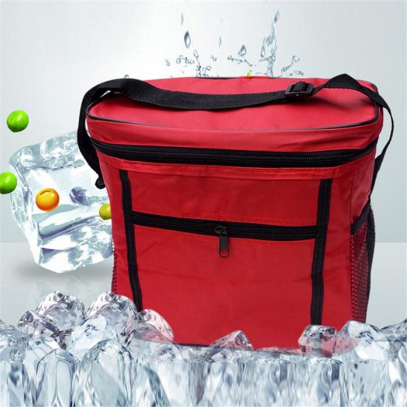 1 Pz Contenitore Di Ghiaccio Dispositivo Di Raffreddamento Lunch Bag Da Viaggio Impermeabile Panno Di Oxford Di Campeggio Esterna Isolato