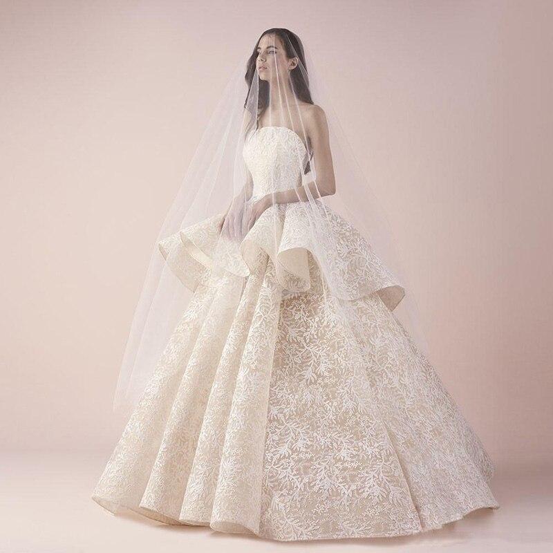 Gorgeous Full Lace Ball Gown Vestido De Noiva Fashion