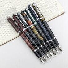 Герцог перьевая ручка металлическая 0,5 мм тонкий наконечник Iridium Point красные, черные темно-синий подарок ручки с бархатный мешочек офисные поставки 1 шт./лот