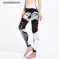 Nuovo Autunno Legging Bianco Nero Oggetti Legins Digitale Stampato leggins Donne ghette Sexy Delle Donne Pantaloni di Fitness Jeggings All'ingrosso