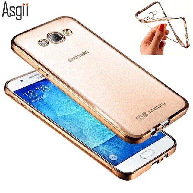 Caso para Samsung Galaxy J1 J3 J5 J7 2015 2016 2017 A3 A5 A7 A8 A9 A310 A510 A710Fashion Chapeamento Design de Luxo de Alta Qualidade cobrir