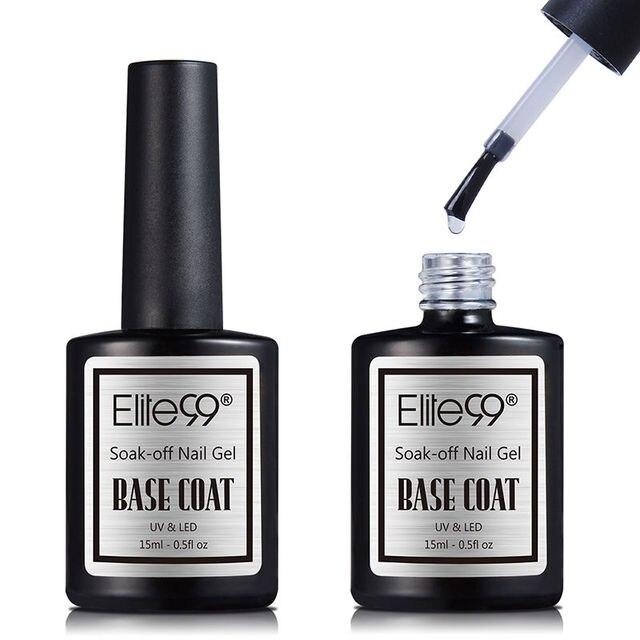 Elite99 15 ml Große Volumen Top Basis Mantel Matte Shiny UV LED Soak Off Gel Polnisch Heißer Verkauf Matt Oberfläche matt Top Mantel Gel