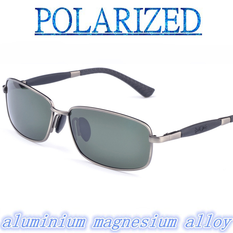 2018 aluminium magnesium alloy Classic fashion sunglasses sun glasses polarized sunglasses driving mirror