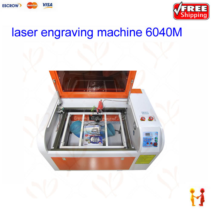 High precison 60W CO2 Laser Engraving machine 6040M Medium-speed version 400MM/S lateral square rail design work area 600*400mm the same as the original clone for ipod nano 7th generation touch screen 64gb film music mp3 4 player a variety of language
