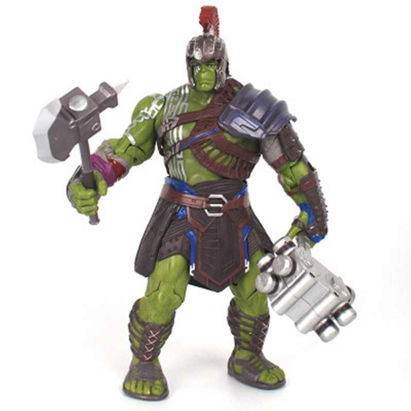 Robert Bruce Banner PVC the avengers Hulk Thor 3 Ragnarok 3 Action Figure Collectible Modelo Toy 20 cm