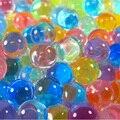 300 peças/pacote de 9-11mm Colorido Orbeez Macio Cristal Água Nerf Bala Água Crescer Contas de Água Crescer Bolas de Paintball Brinquedo Pistola de água