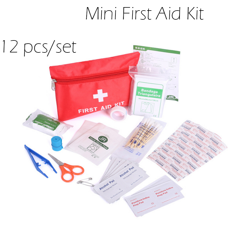 Outdoor First And Kit Travel Medical Set Chartered Drive Wild  Mini Emergency Package Family Household  Necessary Goods