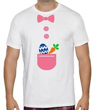 6204d70ef6 NEW KIDS MENS WOMENS EASTER BUNNY COSTUME EGGS HUNT RABBIT CARROT FUN T- SHIRT Cool Casual pride t shirt men Unisex New Fashion
