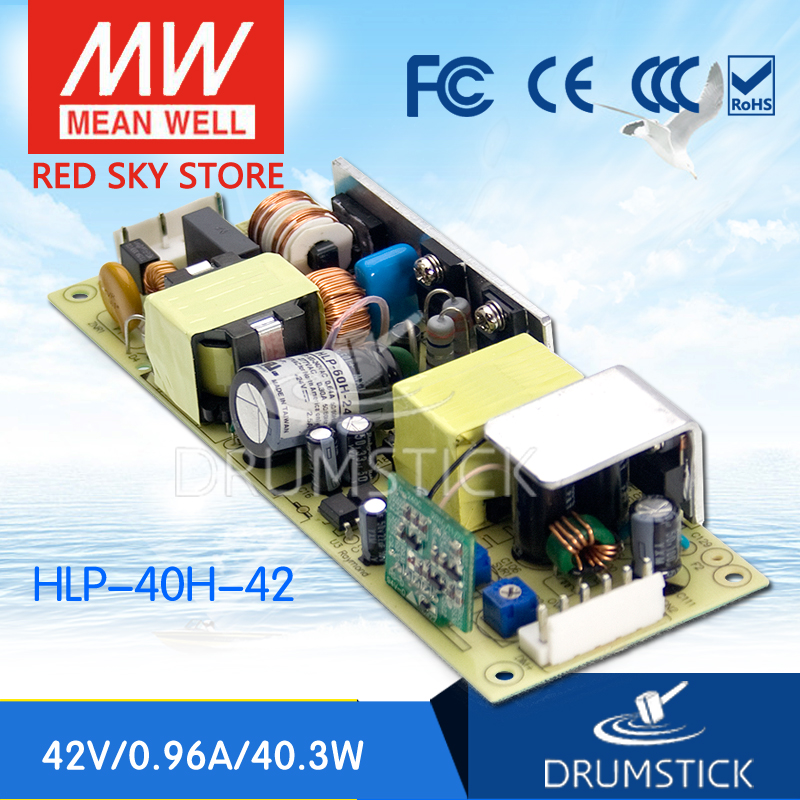 Advantages MEAN WELL HLP-40H-36 36V 1.12A meanwell HLP-40H 36V 40.3W Single Output LED Driver Power Supply цены